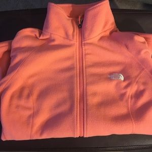 North face full zip sweatshirt